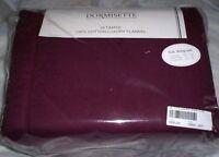THE BEST! Dormisette Thick German Flannel Sheet Set Queen,King or Cal.Kg Merlot