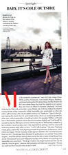 Lily Cole partial-page clipping 2014 Impossible.com
