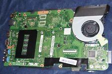 ASUS X555L LAPTOP MOTHER BOARD W/FAN CPU X555LAB Intel i7-5500U 60NB0650-MB9210