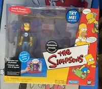 NIB 2001 The Simpsons Interactive Noiseland Arcade Playmates with Jimbo Jones