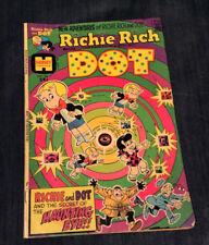 Vintage Harvey Comic New Adventures Of Richie Rich & Dot. Oct. No.1