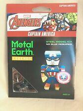 Captain America Metal Earth Legends 3D Steel Model Kit New Marvel Avengers New