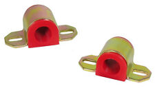 "PROTHANE UNIVERSAL Front / Rear 25mm Sway Bar Bushing & ""A"" Bracket  (Red)"