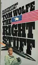 The Right Stuff by Tom Wolfe (1980, Paperback)