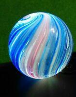 "LG 15/16"" NM Elegant Peppermint Onion Skin Vintage GERMAN Marbles Left Twist"
