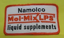 VINTAGE NAMOLCO MOL-MIX LPS LIQUID SUPPLEMENTS FARMER FARM FEED PATCH