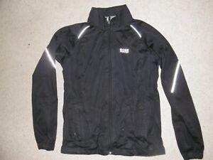 Schwarze Gore Running Wear Gore-Tex Bike Jacke Laufjacke Gr.40/L langarm