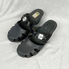 Dr. Scholls dark gray womens size 10 crazy feel good dance clogs nursing shoes