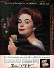 Revlon Love Pat Compact Make-Up REVILLON FRERES FUR Van Cleef & Arpels 1961 Ad