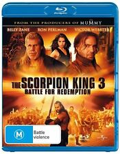 THE SCORPION KING 3 (Blu-ray) Brand new and sealed
