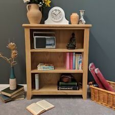 Grange Oak Small Bookcase / Light Oak Shelf Storage Bookshelf / Solid Wood NEW