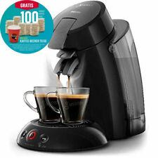 PHILIPS HD 6555/27 SENSEO ORIGINAL XL KAFFEEPADMASCHINE + TOGO BECHER +100 PADS*