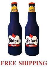 Spoetzl Brewery Shiner Beer 2 Bottle Suit Coolers Koozie Coolie Huggie New