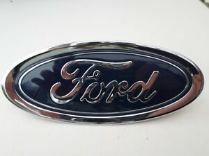 Ford Front Bumper Oval Badge Logo Genuine Part No: C1BB-8B262-AA, (2 pins)