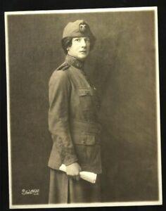 1919 ORIGINAL SALVATION ARMY SIGNED PHOTO  GENERAL EVANGELINE BOOTH VINTAGE
