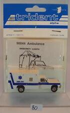 Trident 1/87 No. 90044 Chevrolet Ambulance Rescue Van OVP #080