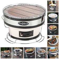 """Portable Yakatori Charcoal Grill 11"""" Small Japanese Outdoor Table BBQ (No Lid)"""
