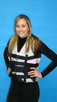 SMALL  LIFE JACKETPINK 4 STRAP VEST STYLE  BOAT SNORKLE Womens