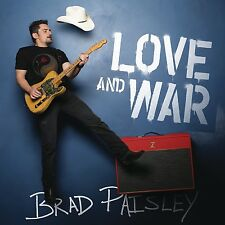BRAD PAISLEY - LOVE AND WAR   CD NEU