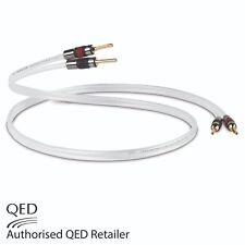 1 x 2m QED REVELATION Signature Speaker Cable AIRLOC Forte Plugs Terminated