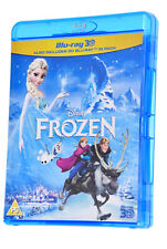 Frozen Disney 3D And 2D 2 Disc Set BLU RAY Movie Film Region B
