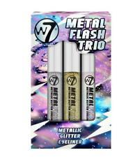W7 Makeup Metal Flash Metallic Glitter Eyeliner Glam Bam Glitzy Iridescent Shade