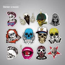 52pcs Sticker Bomb Graffiti Vinyl For Car Skate Skateboard Laptop Luggage Decal