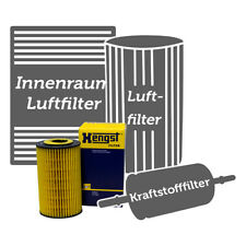 HENGST FILTER SET KOMPLETT FÜR MB M-KLASSE W166 ML 250 CDI BLUETEC 4-MATIC
