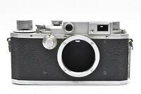 """FOR PARTS"" CANON IVSb 4sb Rangefinder Film Camera Body #1618"