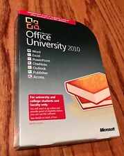 MICROSOFT OFFICE UNIVERSITY 2010 -Opened in Box