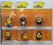 Minions Set 6 Clip-On Figures Vampire Pirate Soldier