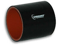 VIBRANT PERFORMANCE 2-1/2 in ID Silicone Straight Tubing Coupler P/N 2710