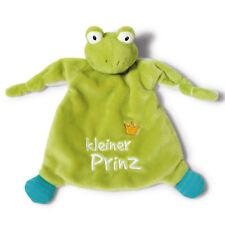 """NICI Schmusetuch 40045, My First NICI Schmusetuch Frosch """"kleiner Prinz"""" 25x25cm"""