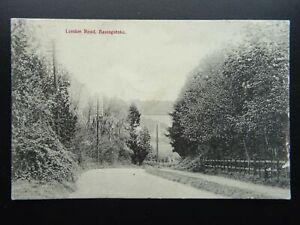Hampshire BASINGSTOKE London Road c1905 Postcard by Terry Hunt