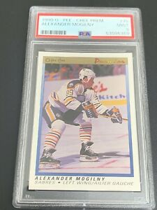 1990 OPC Premier #75 Alexander Mogilny Rookie PSA 9 MINT RC