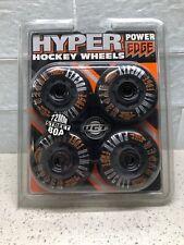 NIP Vtg Set of 4 Hyper 72mm 80a Inline Roller Skate Wheels Street Hockey