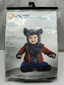 California Costumes Wittle Werewolf Wolf Infant Baby Halloween Costume 12-18 mo