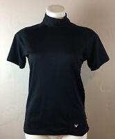 CALLAWAY Women's Shirt Size XL Fitted Short Sleeve