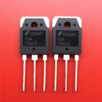5PCS FQA70N15 Encapsulation:TO-3P,N-Channel Power MOSFET