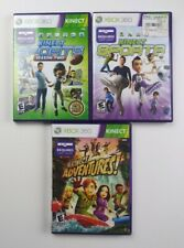 Kinect Sports Season One & Two (2) + Kinect Adventures — Complete! (Xbox 360)