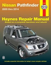 2005-2014 Nissan Pathfinder Haynes Repair Manual 2009 2010 2011 2012 2013 1456