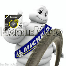 "Camera D'aria Autoriparante - Antiforatura Bici 28"" V / P  MICHELIN PROTEK MAX"
