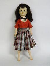 "Vintage E. I. Horsman 1950's Vinyl Cindy Fashion Doll ~ 15"""