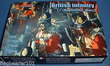 Mars 72025 Infantería Británica-Guerras Napoleónicas escala 1/72 de plástico sin pintar.