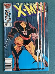 The Uncanny X-Men #207 (Jul 1986, Marvel) Wolverine coming soon to MCU!!