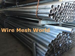 New Galvanised Steel Round Tube/ Pipe /Fence Post 6m
