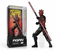In Stock: FiGPiN Classic: Clone Wars - Darth Maul #519 FREE US SHIPPING