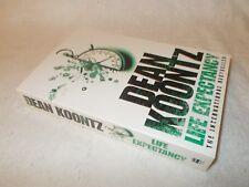 Life Expectancy by Dean Koontz (Paperback, 2005) Oversized Softback