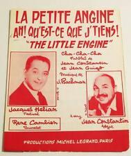 Partition sheet music JACQUES HELIAN / JEAN CONSTANTIN : La Petite Angine * 60's