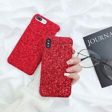 Slim Luxury Bling Glitter Sparkle Hard Back Case Cover For iPhone X 8 7 6s Plus